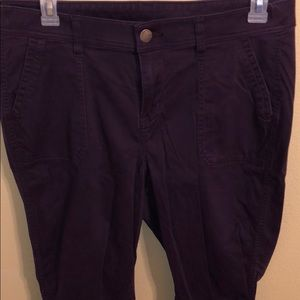 Plum Colored Jeans